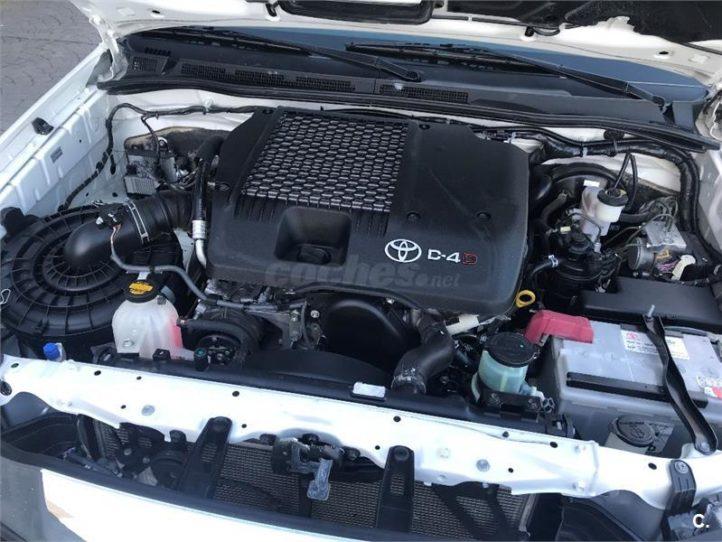 Venta de Toyota Hilux Auténticos 4x4 - Detalle motor