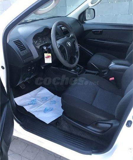 Venta de Toyota Hilux Auténticos 4x4 - Detalle interior