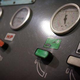 Detalle de taller y maquinaria