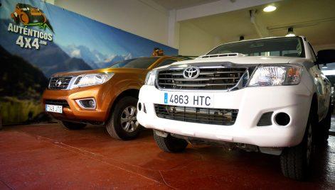 Nissan y Toyota disponibles