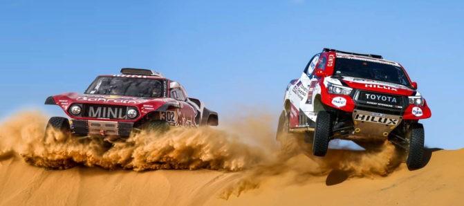 Toyota Hilux, Los Reyes de la Arena