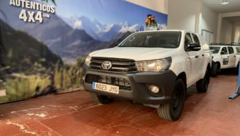 Toyota Hilux 2.4 150cv GX Doble Cabina5 plazas 4x4 2017 (6023-JYG)