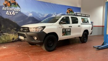 Toyota Hilux 2.4 150cv GX Doble Cabina5 plazas 4x4 2017 (8353-JYB)